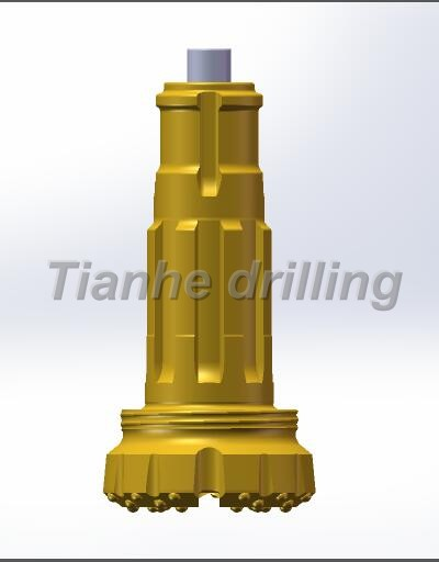 Down The Hole Button Bits Rock Drilling Long Life Span High Abrasion Resistant