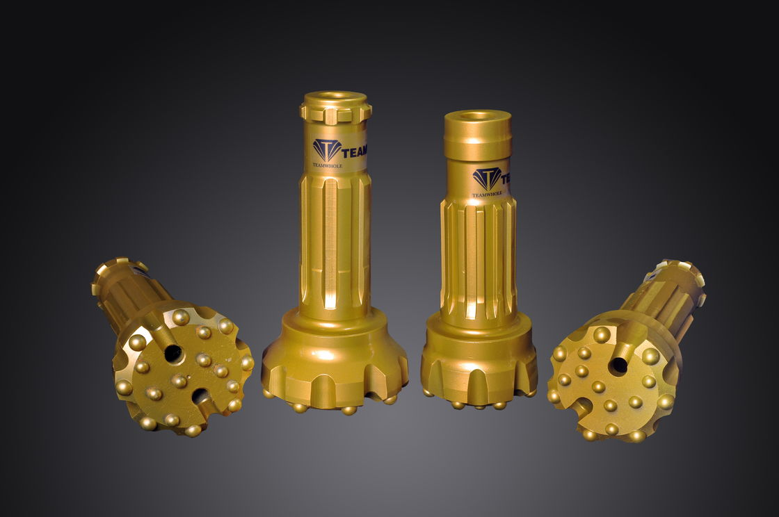 "Industrial Well Drilling DTH Hammer Bits For 5"" Hammer Stable Work Performance"