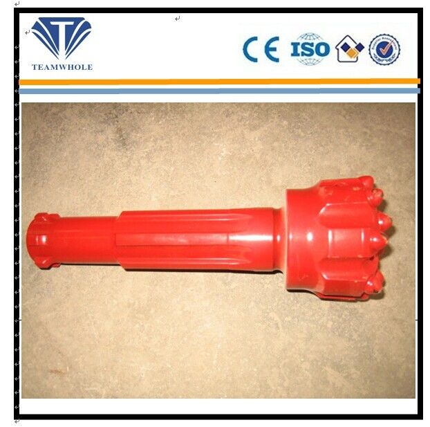 BR Series DTH Drill Bits , Red Flat Ballitic 3 Inch Well Drilling Tools
