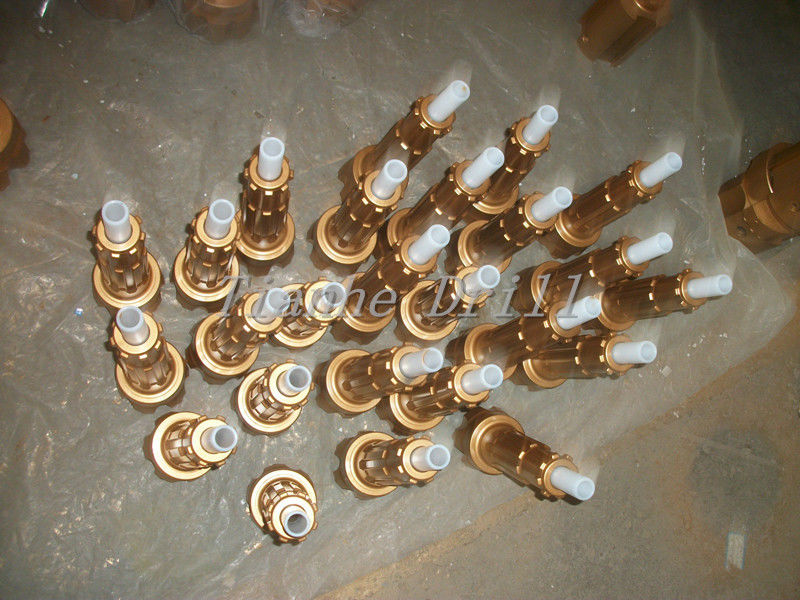 Efficient D3.5 100mm DTH Button Bits For Very Hard / Abrasive Rock Formations