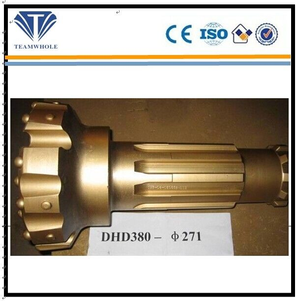 Wearable 8 Inch DHD380 Rock Bit 271mm Dia Advanced Heat Treatment Technics
