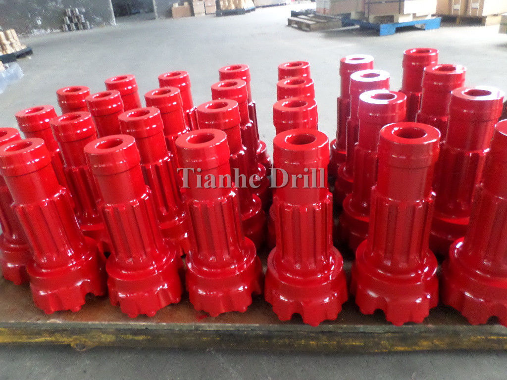 Reliable QL60 171mm Dth Hammer Bits , High Level Steel Drilling Machine Parts