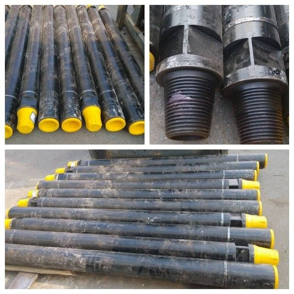 Rock Drilling Dth Drill Tube , Chromium Molybdenum Steel Rock Drilling Tools