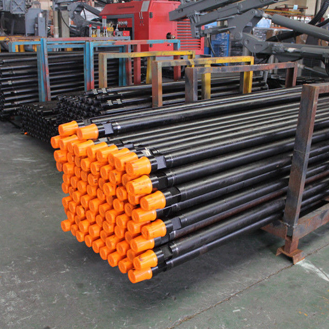 DTH Drilling Machine Drill Steel Pipe Seamless Steel Weather Resistant