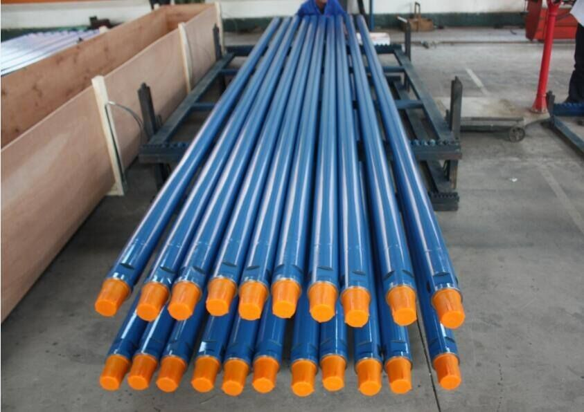 Engineering Drilling / Mining Drill Steel Pipe High Strength Steel Material