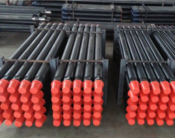 Diameter Optional Well Drilling Rods , 1m~9m Length Pipe Drilling Tools