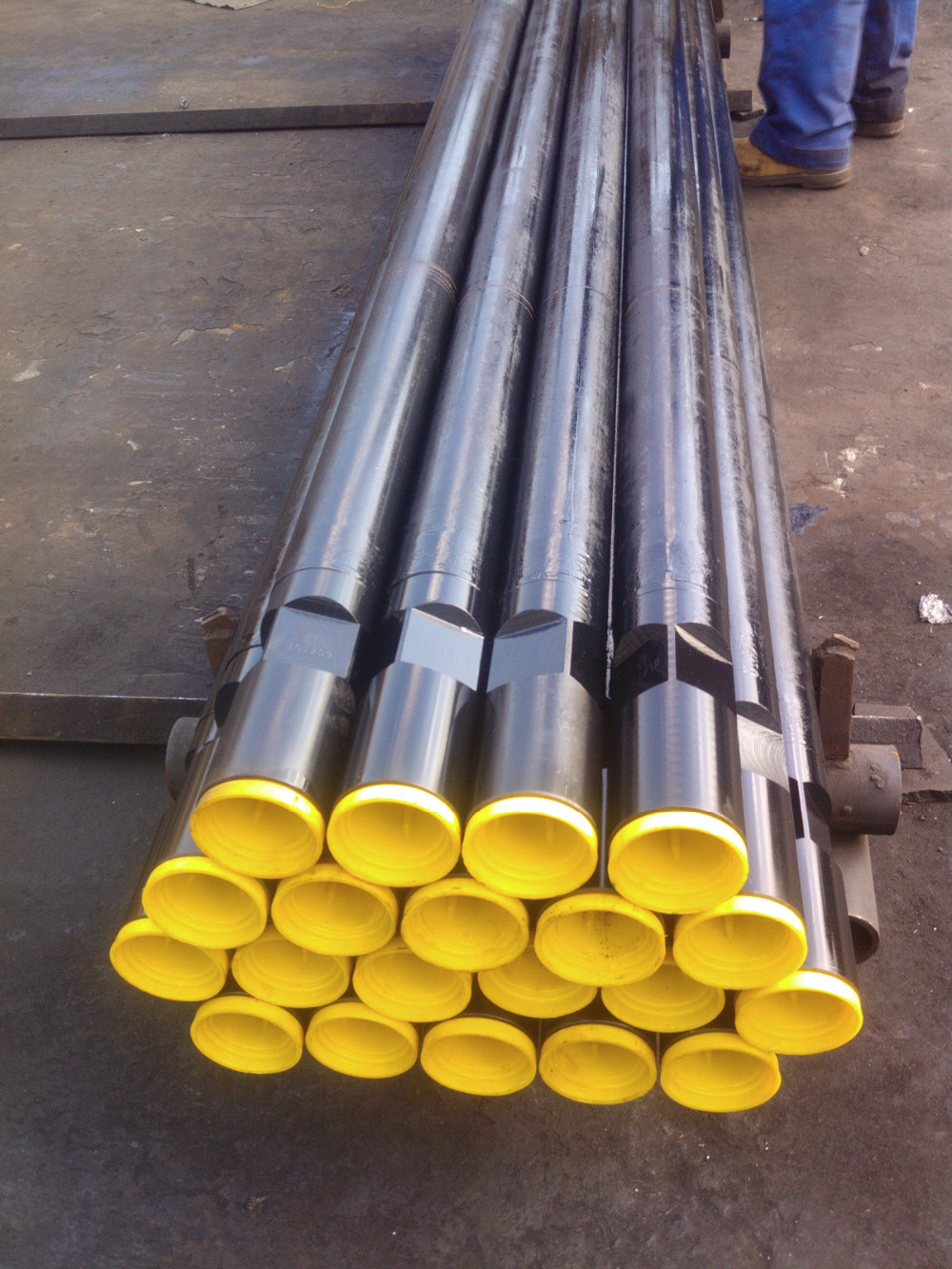 API Drill Steel Pipe For Rock / Well Drilling Friction Welding Type