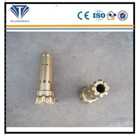 China Flat Spherical Dth Drilling Tools Gold Color Durable Thrc Series DTH Bits distributor